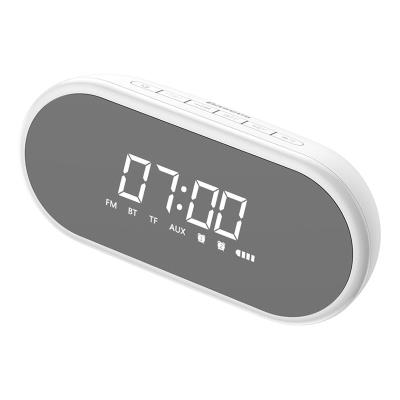 Altavoz Bluetooth con reloj despertador Baseus E09 Blanco