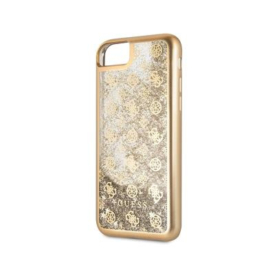 Glitter Silicone Cover Guess iPhone 7/8 Gold