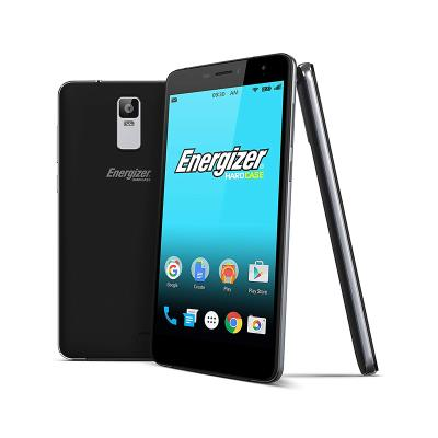 Energizer S600 16GB/2GB Dual SIM Black + Tempered Glass and Silicone Case