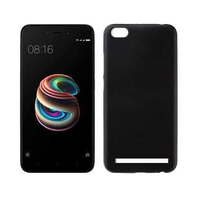 Funda Silicona Xiaomi Redmi 5A Negra