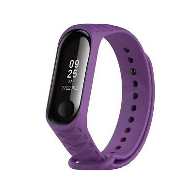 Silicone Bracelet Xiaomi Mi Band 3/4 Violet