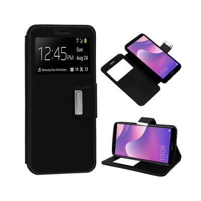 Capa Flip Cover Huawei Y7 2018 Preta