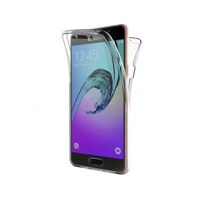 Capa Silicone Frente e Verso Samsung Galaxy A5 2016 A510 Transparente
