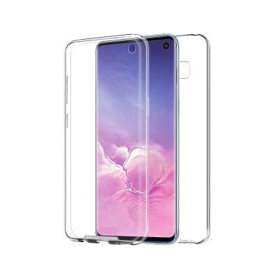 Capa Silicone Frente e Verso Samsung Galaxy S10 G973 Transparente