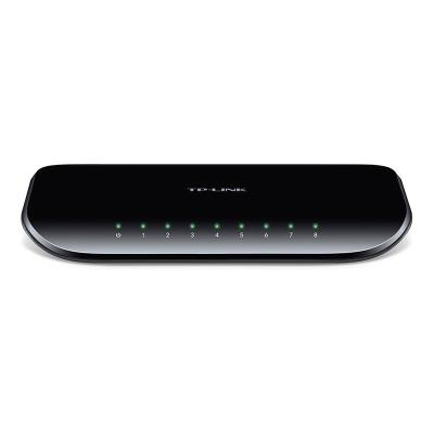 Switch TP-Link 8 Portas 10/100/1000Mbps Black