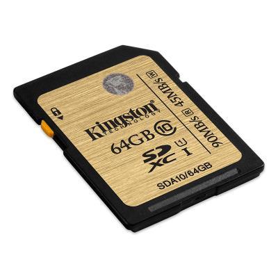 Cartão Memória Kingston 64GB SDHC Class 10 (HUS-I 90M-R/45M-W)