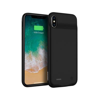 Battery 3200 mAh Cover USAMS iPhone X/XS Black (US-CD43)
