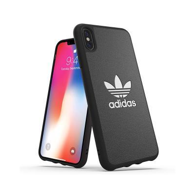 Capa Proteção Adidas iPhone XS Max Basics FW18 Preta