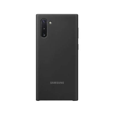 Silicone Cover Original Samsung Galaxy Note 10 Black (EF-PN970TBE)