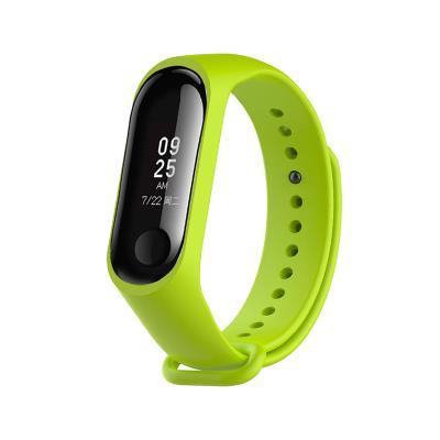 Silicone Bracelet Xiaomi Mi Band 3/4 Green