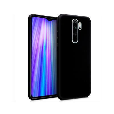 Silicone Cover Xiaomi Redmi Note 8 Pro Black