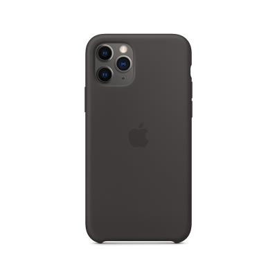 Silicone Cover Original Apple iPhone 11 Pro Black (MWYN2ZM/A)