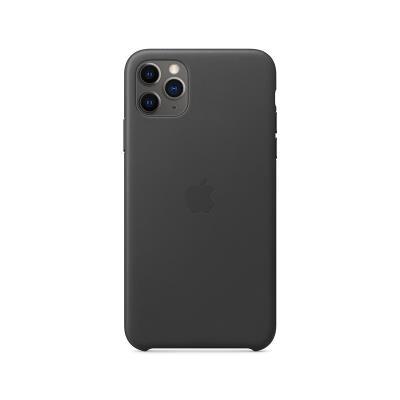 Funda de Piel Original Apple iPhone 11 Pro Max Negra (MXOE2ZM/A)
