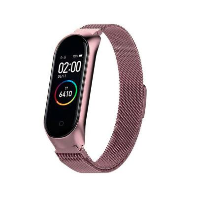 Metal Watch Band Xiaomi Mi Band 3/4 Pink