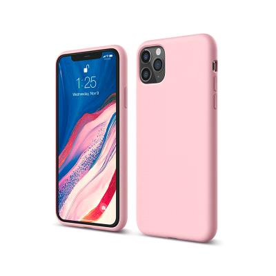 Capa Silicone Premium iPhone 11 Pro Rosa