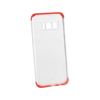 Funda Silicona Baseus Samsung Galaxy S8 G950 Transparente/Roja