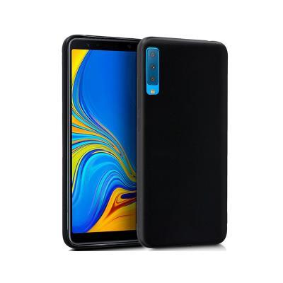 Funda Silicona Samsung Galaxy A7 2018A750 Negro