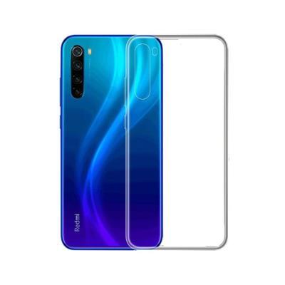 Funda Silicona Xiaomi Redmi Note 8/Note 8 2021 Transparente