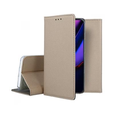 Funda Flip Cover Premium iPhone 11 Pro Max Dorada