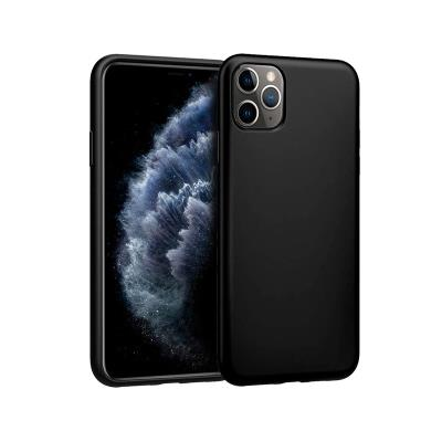 Silicone Cover iPhone 11 Pro Black