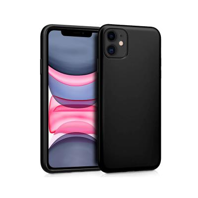 Silicone Cover iPhone 11 Black