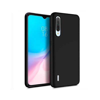 Capa Silicone Xiaomi Mi 9 Lite Preta