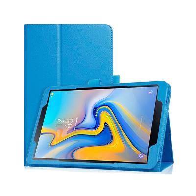 Capa Premium Pele Samsung TAB A Azul (T590/T595)