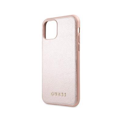 Capa Proteção Guess iPhone 11 Pro Iridescent Rosa