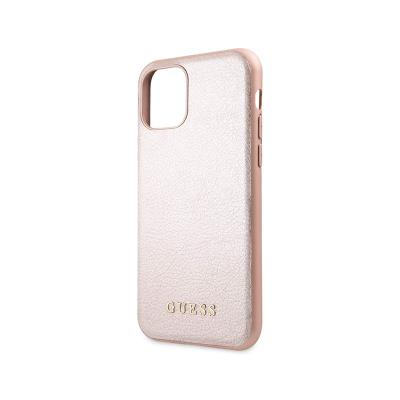 Protective Iridescent Cover Guess iPhone 11 Pro Pink