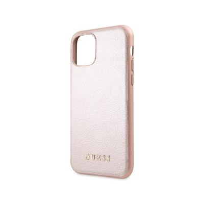 Protective Iridescent Cover Guess iPhone 11 Pink