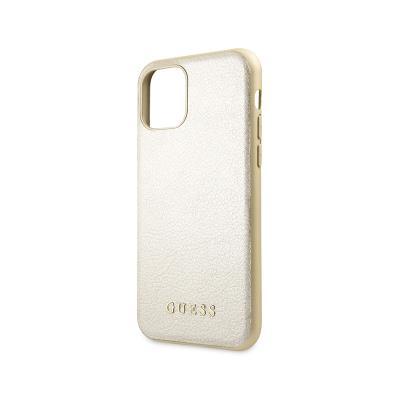 Capa Proteção Guess iPhone 11 Pro Iridescent Dourada