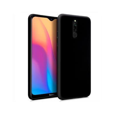 Capa Silicone Xiaomi Redmi 8/8A Preta