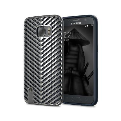 Protective Cover Stilmind Kaiser Samsung Galaxy S7 G930 Silver (SB1SGHT02M)