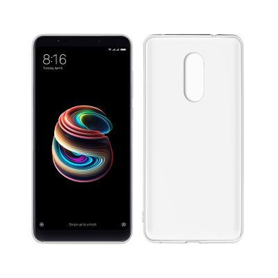 Funda Silicona Xiaomi Redmi 5 Plus Transparente