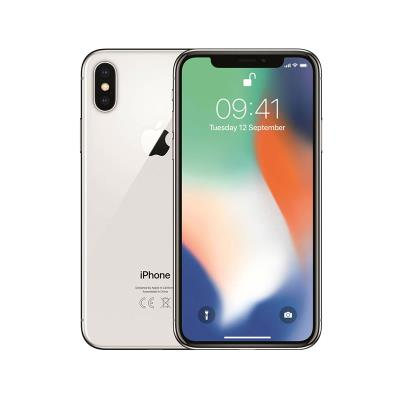 iPhone X 64GB/3GB Silver Refurbished