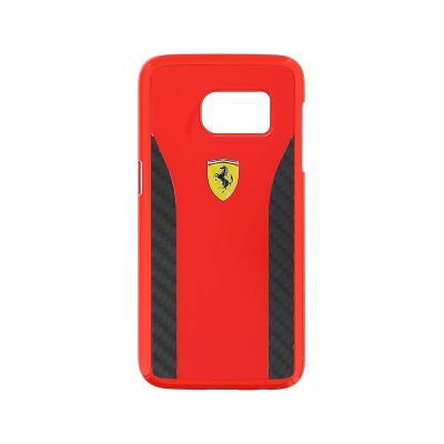 Capa Proteção Daytona Ferrari Samsung Galaxy S7 Edge Vermelha (FECCHCS7ERE)