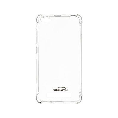 Funda Silicona antichoque Kisswill Xiaomi Redmi 4A Transparente