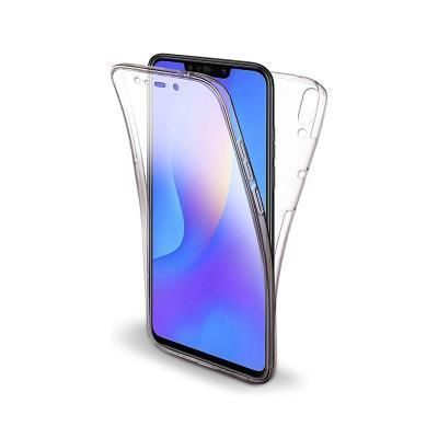 Capa Silicone Frente e Verso Huawei P Smart Plus Transparente