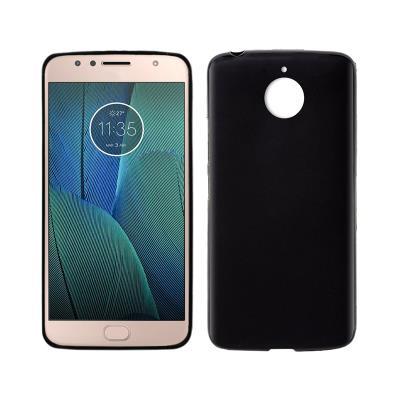 Silicone Cover Motorola Moto G5S Plus Black