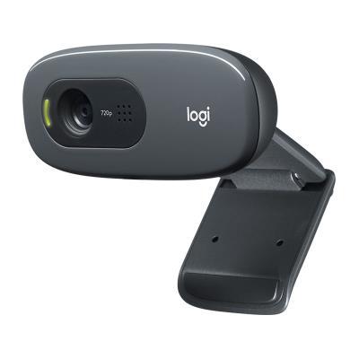Webcam Logitech C270 720P/30FPS Black