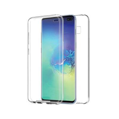 Capa Silicone Frente e Verso Samsung Galaxy S10 Plus G975 Transparente