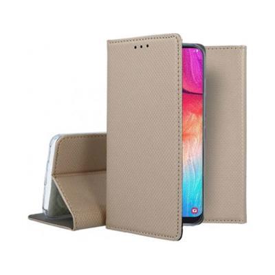 Flip Cover Premium Samsung Galaxy A50 A505 Gold