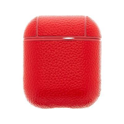 Bolsa de Pele Handodo Apple AirPods Vermelha