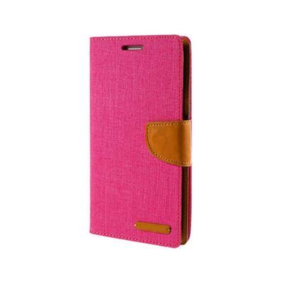 Flip Cover Canvas Samsung Galaxy S10 G973 Pink