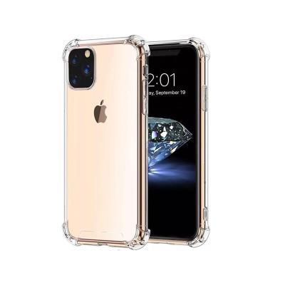 Capa Silicone Anti-Choque iPhone 11 Pro Transparente