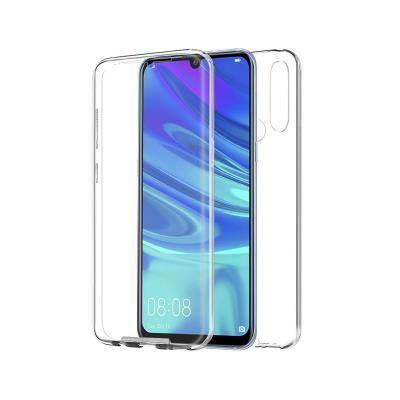 Capa Silicone Frente e Verso Huawei P Smart Plus 2019 Transparente