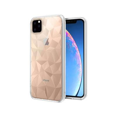 Funda Silicona Prisma iPhone 11 Pro Transparente