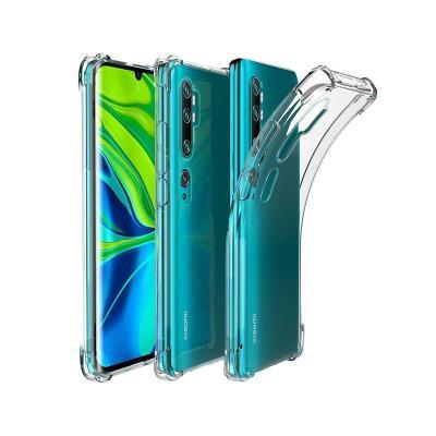 Funda Silicona Reforzada Xiaomi Mi Note 10/Note 10 Pro Transparente
