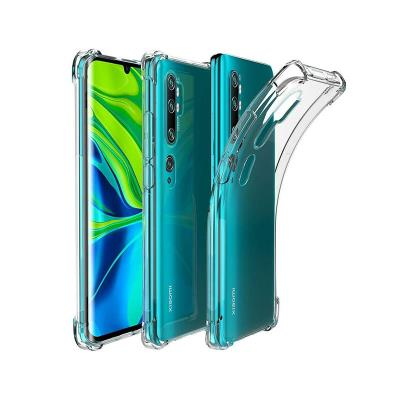 Reinforced Silicone Cover Xiaomi Mi Note 10/Note 10 Pro Transparent