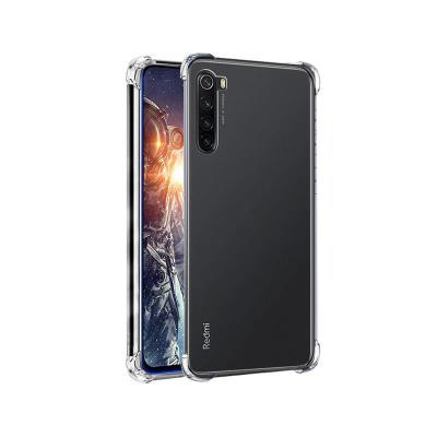 Capa Silicone Anti-Choque Roar Xiaomi Redmi Note 8/Note 8 2021 Transparente
